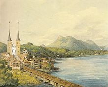 water color by Mendelssohn