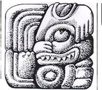 Mayan hieroglyphic, and it came to pass