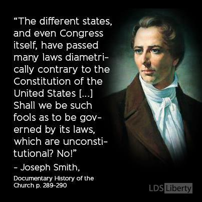 Joseph Smith on Constitutional Law