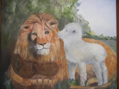 Lamb and Lion resizeWM