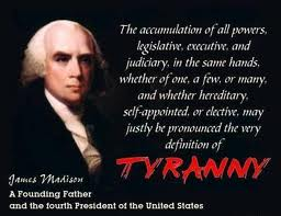Madison vs. tyranny
