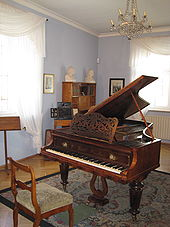 Robert Schumann music room
