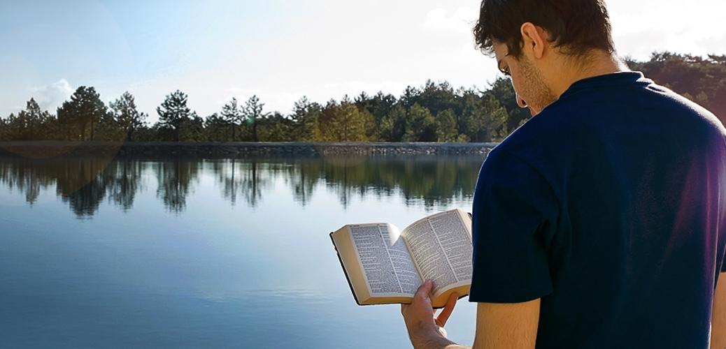 ben reading bible