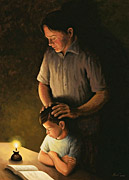 Father's Blessing by L.A. Olas