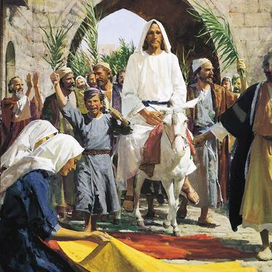 Christ-Triumphal-Entry-into-Jerusalem-Harry-Anderson