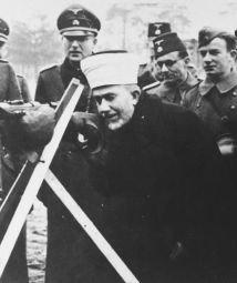 Haj_Amin_al-Husseini_mufti_SS_nazi_firing_range