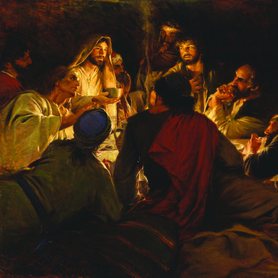 Jesus-last-supperPeace-I-Leave-With-You-Walter-Rane
