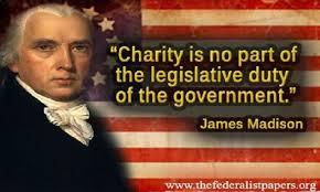 James Madison on charity