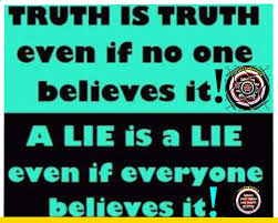 truth and lies defined