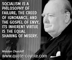 gospel of envy Churchill