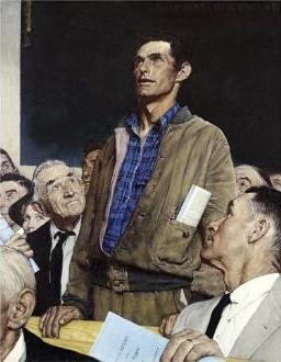 Rockwell Freedom of Speech