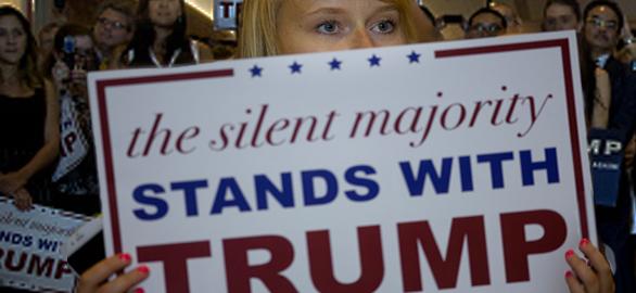 Silent-majority-Trumpette