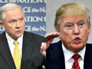 Senator Sessions and Donald Trump