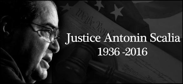 Justice Antonin Scalia 1936-2016