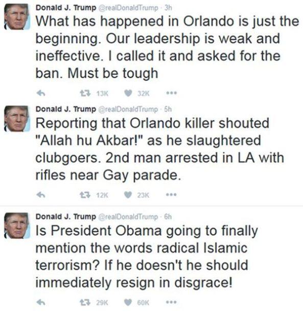 Trump-Orlando-shootings-obama-resign