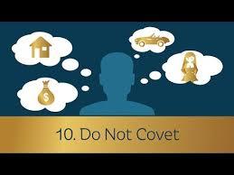 commandment 10 don't covet
