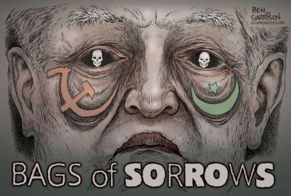 George Soros, financier of riots and BLM