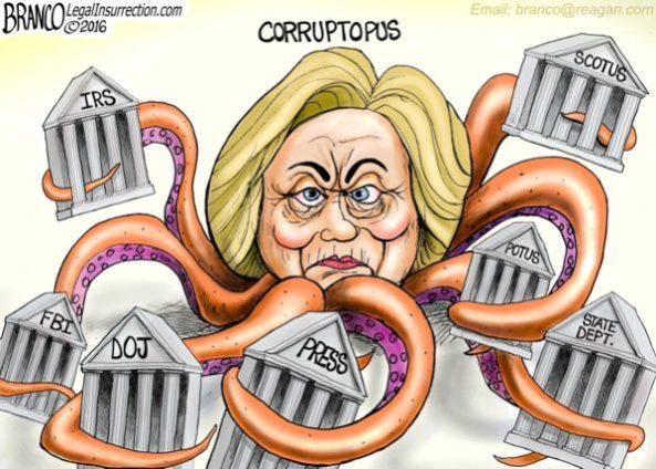 cartoon-hillary-corruptioncorruptopus