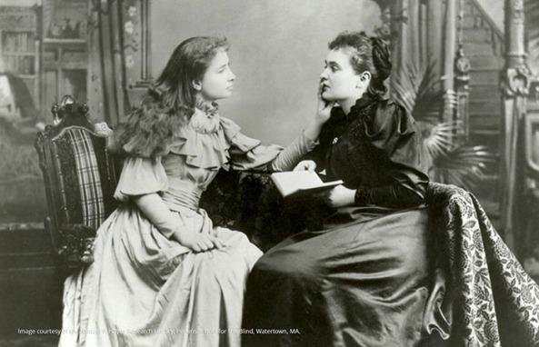 Ann Sullivan and Helen Keller