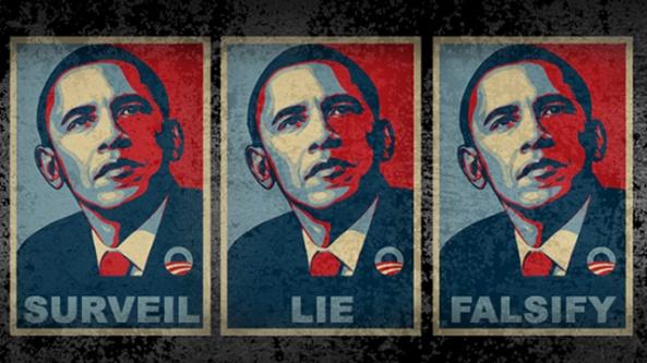 obama lie falsify