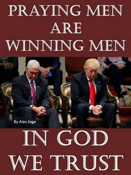 praying men are winning men