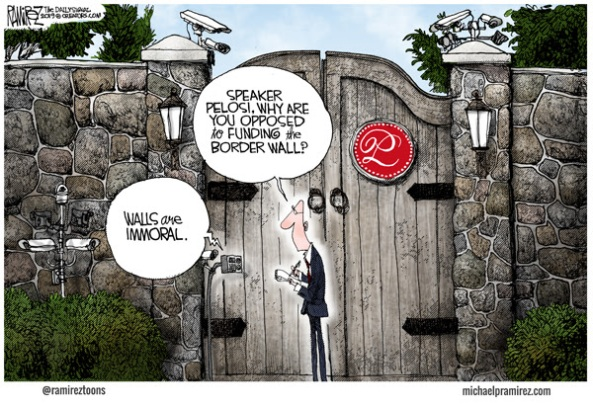 Image result for cartoon branco walls are immoral