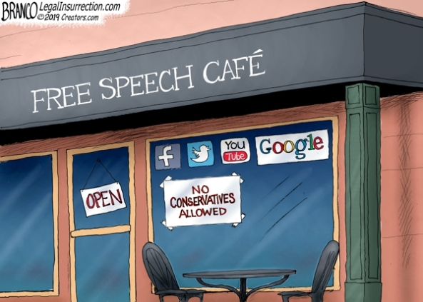 cartoon free speech cafe