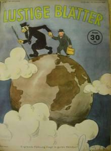 Nazi cartoon in 1940