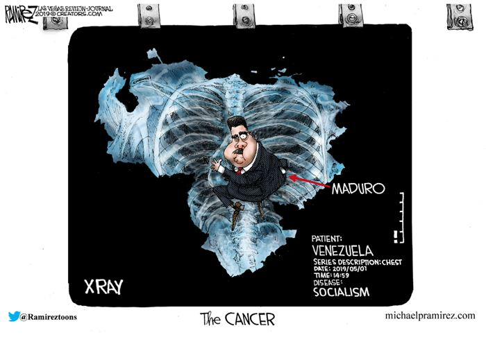 cartoon ramirez socialism cancer