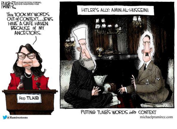 tlaib anti-semitism