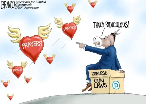democrats scorn prayer