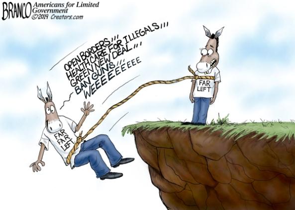 cartoon left wing radicals