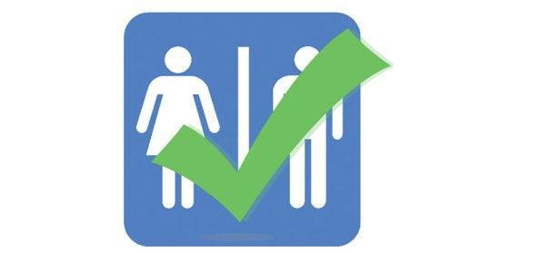 separate gender bathrooms