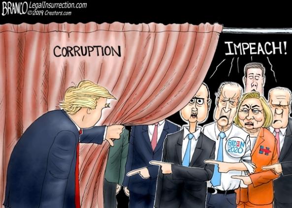 cartoon-dem corrupton in office