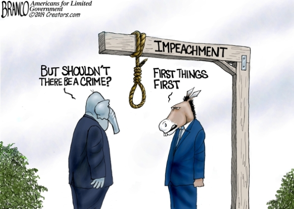 cartoon-dem impeachment no crime