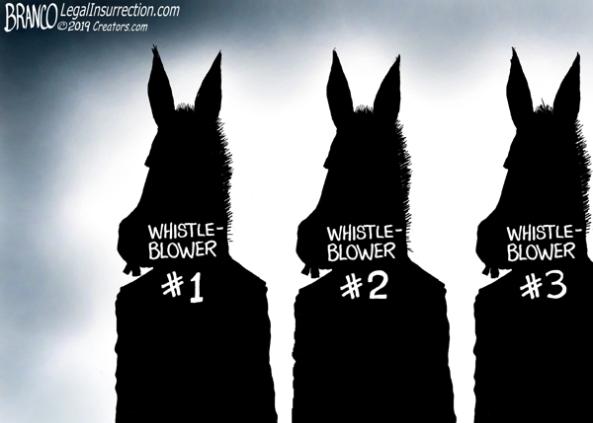democrats make up whistleblowers