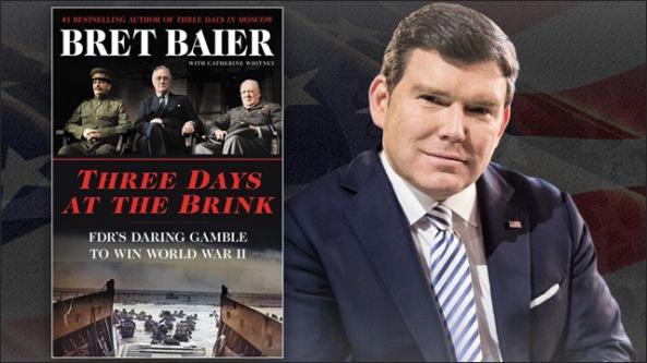 Brett Baier book FDR WW2