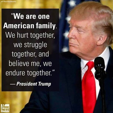 Trump-one big American family