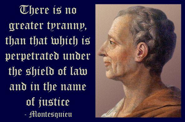 tyranny-social justice
