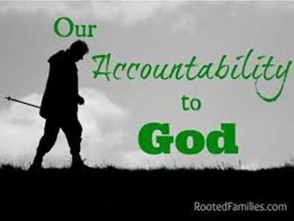 accountable to God