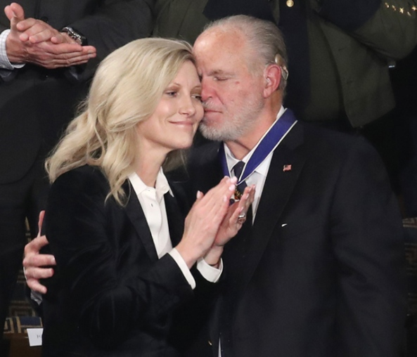 Limbaugh and wife Kathryn