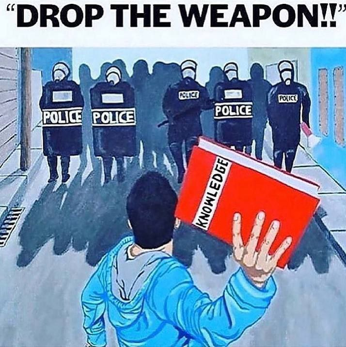 knowledge is weapon