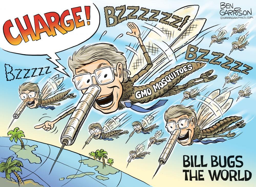 bill gates mosquito machine