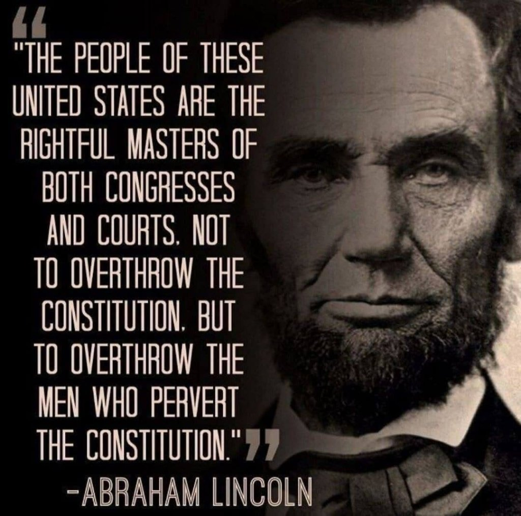Lincoln quote on constitution